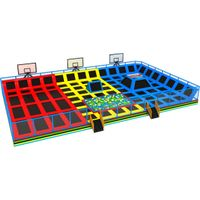 HLB-7051A Customized Commercial Indoor Trampoline Park thumbnail image