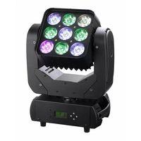 RGBW 4in1 9*12W Matrix LED Moving Head Wash Light
