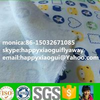 pigment printed cotton flannel fabric manufacturer cheap