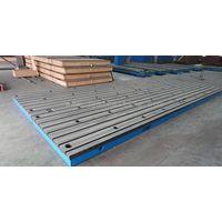 Cast Iron T-slot Floor Plate