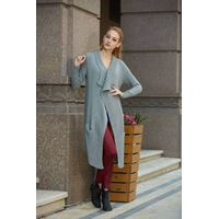 China wholesale woman clothing open chest woolen sweater designs for ladies