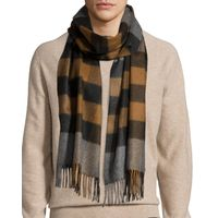 men 100% pure cashmere scarf