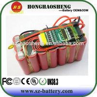 Most Popular Lithium-ion 18650 12V 20AH Battery Li-ion