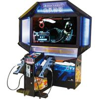 Arcade shooting game machine