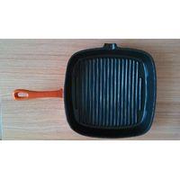 cast iron enameled casserole