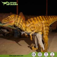 LIfe Size Adult Realistic Velociraptor Dinosaur Costume for Sale
