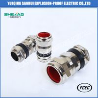 Double compression cable glands for hazardous environment thumbnail image