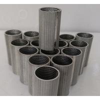 Filter screen mesh tubes