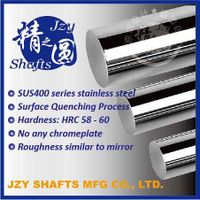 SUS400 series stainless steel quenched linear shafts with HRC56-58 surface similar to mirror