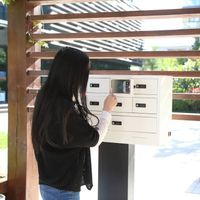 mobile phone charging kiosk/locker