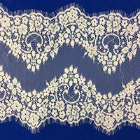 eyelash lace trimming for wedding dress or sex garment thumbnail image