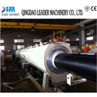 pe hdpe water gas supply pipe extrusion line