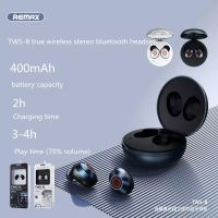 New Remax tws-8 metal true wireless stereo Bluetooth 5.0 headset with microphone HD call music sport