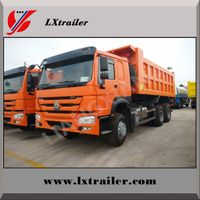 Heavy duty Howo hydraulic lifting 64 ZZ3257N3847A dump truck sale