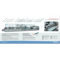 DHC-500 injection blister packing production line for various ampoules/vials/oral liquid/pre-fillde