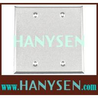 electrical junction box cover/single gang /square box cover thumbnail image