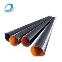 HDPE 300mm-2400mm plastic spiral corrugated drainage pipe diameter thumbnail image