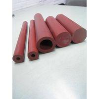 PTFE(TEFLON) TUBE ROD-color in maroon