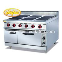 Electric 6-Hot Plate with Electric Oven thumbnail image