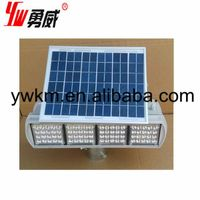 DC12V red and blue solar traffic warning light