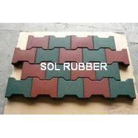 Interlock horse barn paver, horse parthway paver, interlock rubber paver,dog bone paver