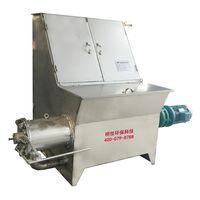 Poultry cow pig chicken manure dewater machine solid liquid separator