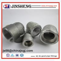 ASME/ANSI B16.11 Forged High Pressure Pipe Fittings For gas/water/oil pipeline thumbnail image