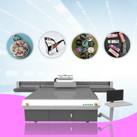 Share UV Printer 2513 Glass Slipper Wooden UV Flatbed Printer 3D UV Inkjet Printing Machine Leather thumbnail image