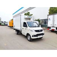 2020 Foton 4X2 6.6M3 Freezer Vehicle Reefer Truck Refrigerator Trucks for Sale thumbnail image