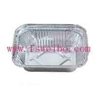 disposable aluminum foil container for food packing and storage thumbnail image
