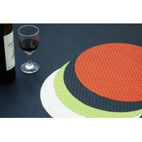 Vinyl Fitted Round Plastic Tablecloths