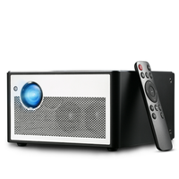 3D Projector with 1380ansi lumens Office Multimedia Entertainment DLP Projector with android 2G+16G