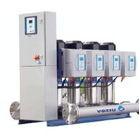 Frequency control supercharging equipment