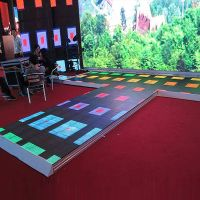 Factory direct white dance floor for sale