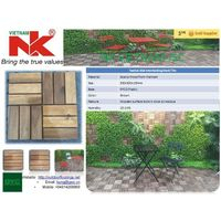 Hardwood Interlocking Floor Decking Tile