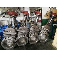 ASME cast steel gate valve with flange end