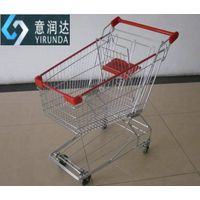 Asian style supermarket trolley