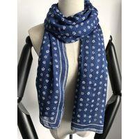 modal monochrome flower printed scarf