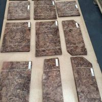 Black American Walnut Burl Wood Veneer for Decoration