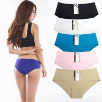 Ice Silk Seamless Underwear High Quality Panties For Women Mature Women Short Pants