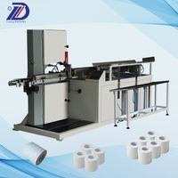 Toilet roll paper cutter Toilet Paper Production Line Roll Paper Cutter Machine