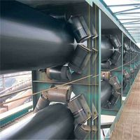 polyester fabric Rubber,Nylon Pipe Conveyor Belt, Belt Thickness: 10-20 mm, Belt Width: 2200 mm