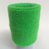 Cotton terry solid color sweatband