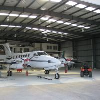 Customized Middle airplane hangar in light steel frame, H steel structure hangar