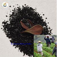 High Efficiency Fertilizer Potassium Humate Shiny Flakes