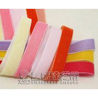 XSD Colorful Nylon Velvet Ribbon