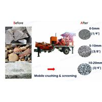10-20tph Diesel Engine Jaw Crusher with Screen thumbnail image