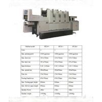Multicolor Sheet Fed Offset Printing Machine  Model: Akiyama BT-28