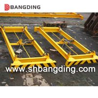 hydraulic semi-automatic container spreader lifting frame