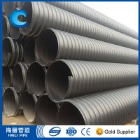 China factory hot sale large diameter hdpe pipe 1800mm for buried drainage